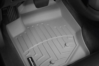 WeatherTech® 460531 - DigitalFit™ Molded Floor Liners (1st Row, Gray)