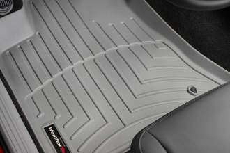WeatherTech® 460691 - DigitalFit™ Molded Floor Liners (1st Row, Gray)
