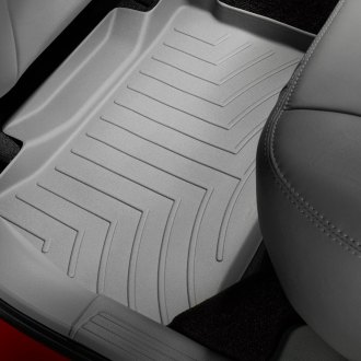 WeatherTech® - DigitalFit™ Molded Floor Liners (2nd Row, Gray)