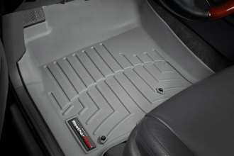 WeatherTech® 460701 - DigitalFit™ Molded Floor Liners (1st Row, Gray)