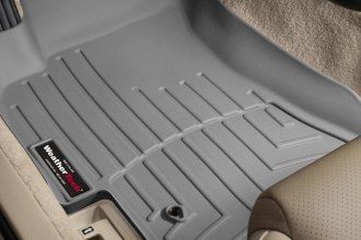 WeatherTech® 460831 - DigitalFit™ Molded Floor Liners (1st Row, Gray)
