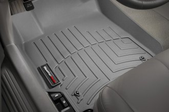 WeatherTech® 460841 - DigitalFit™ Molded Floor Liners (1st Row, Gray)