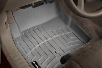 WeatherTech® 460861 - DigitalFit™ Molded Floor Liners (1st Row, Gray)