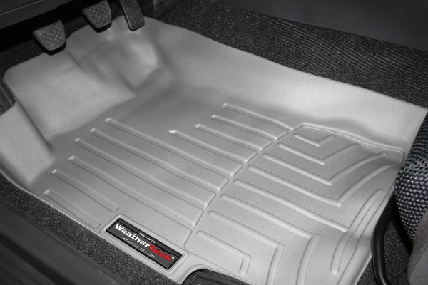 WeatherTech® - DigitalFit™ Molded Floor Liners - 1st Row, Gray