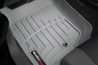WeatherTech® 461051 - DigitalFit™ Molded Floor Liners (1st Row, Gray)
