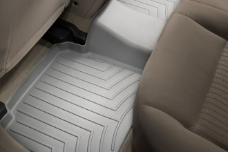 WeatherTech® 461082 - DigitalFit™ Molded Floor Liner (2nd Row, Gray)