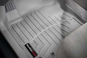 WeatherTech® 461091 - DigitalFit™ Molded Floor Liners (1st Row, Gray)