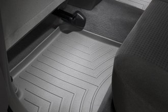 WeatherTech® 461092 - DigitalFit™ Molded Floor Liners (2nd Row, Gray)