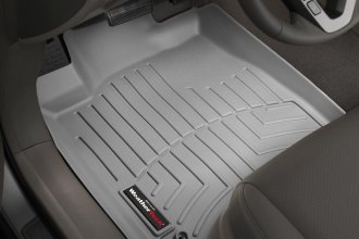 WeatherTech® 461141 - DigitalFit™ Molded Floor Liners (1st Row, Gray)