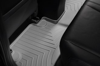 WeatherTech® 461172 - DigitalFit™ Molded Floor Liner (2nd Row, Gray)