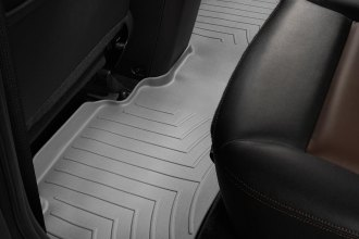 WeatherTech® 461192 - DigitalFit™ Molded Floor Liner (2nd Row, Gray)