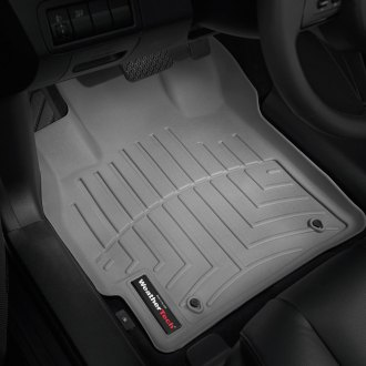 WeatherTech® - DigitalFit™ 1st Row Gray Molded Floor Liners