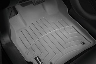 WeatherTech® 461221 - DigitalFit™ Molded Floor Liners (1st Row, Gray)