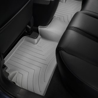 WeatherTech® - DigitalFit™ 2nd Row Gray Molded Floor Liner