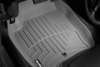 WeatherTech® 461241 - DigitalFit™ Molded Floor Liners (1st Row, Gray)