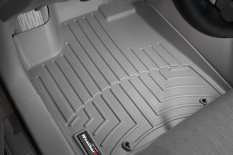 WeatherTech® 461311 - DigitalFit™ Molded Floor Liners (1st Row, Gray)
