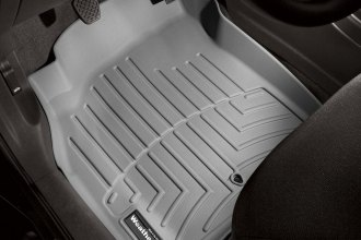 WeatherTech® 461451 - DigitalFit™ Molded Floor Liners (1st Row, Gray)