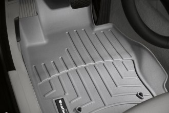 WeatherTech® 461461 - DigitalFit™ Molded Floor Liners (1st Row, Gray)