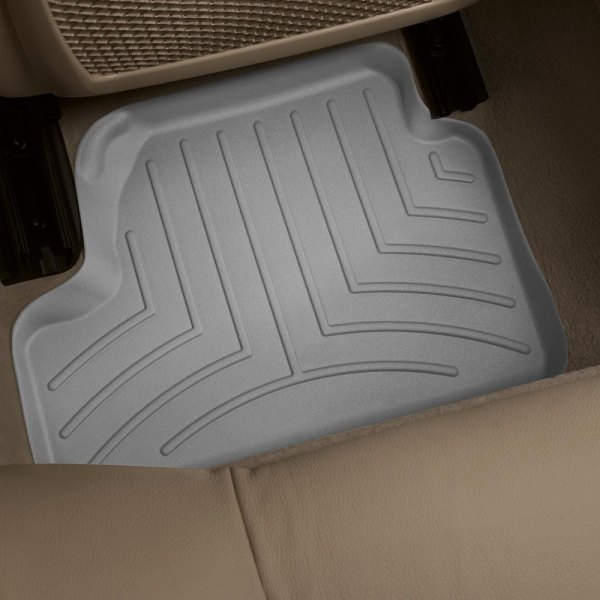 WeatherTech® - DigitalFit™ Molded Floor Liners 2nd Row, Gray