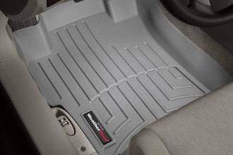 WeatherTech® 461481 - DigitalFit™ Molded Floor Liners (1st Row, Gray)