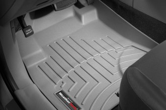 WeatherTech® 461591 - DigitalFit™ Molded Floor Liners (1st Row, Gray)