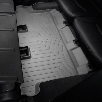 WeatherTech® - DigitalFit™ Molded Floor Liner (3rd Row, Gray)