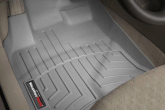 WeatherTech® 461861 - DigitalFit™ Molded Floor Liners (1st Row, Gray)