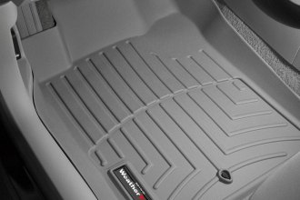 WeatherTech® 461981 - DigitalFit™ Molded Floor Liners (1st Row, Gray)