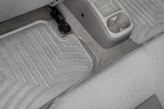 WeatherTech® 461982 - DigitalFit™ Molded Floor Liners (2nd Row, Gray)