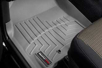 WeatherTech® 462161 - DigitalFit™ Molded Floor Liners (1st Row, Gray)