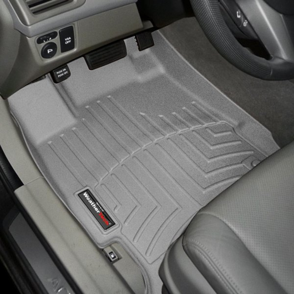 WeatherTech® - DigitalFit™ Molded Floor Liners 1st Row, Gray