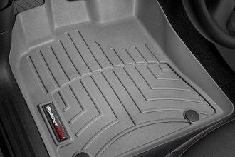 WeatherTech® 462301 - DigitalFit™ Molded Floor Liners (1st Row, Gray)