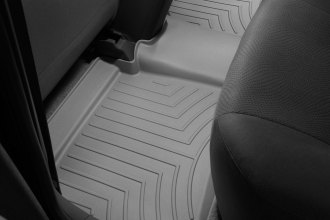 WeatherTech® 462562 - DigitalFit™ Molded Floor Liner (2nd Row, Gray)