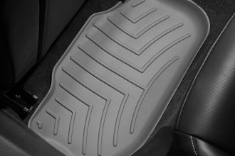 WeatherTech® 462672 - DigitalFit™ Molded Floor Liners (2nd Row, Gray)