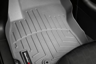 WeatherTech® 462741 - DigitalFit™ Molded Floor Liners (1st Row, Gray)