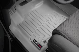 WeatherTech® 462771 - DigitalFit™ Molded Floor Liners (1st Row, Gray)