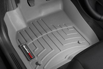 WeatherTech® 462791 - DigitalFit™ Molded Floor Liners (1st Row, Gray)