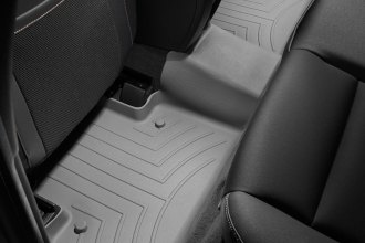 WeatherTech® 462793 - DigitalFit™ Molded Floor Liners (2nd Row, Gray)