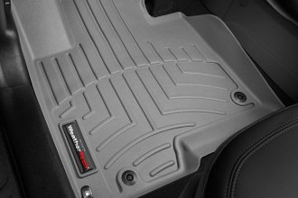 WeatherTech® 462921 - DigitalFit™ Molded Floor Liners (1st Row, Gray)
