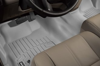 WeatherTech® 462931 - DigitalFit™ Molded Floor Liner (1st Row - Over The Hump, Gray)