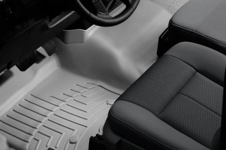 WeatherTech® 462951 - DigitalFit™ Molded Floor Liner (1st Row - Over The Hump, Gray)
