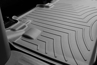 WeatherTech® 463002 - DigitalFit™ Molded Floor Liners (2nd Row, Gray)