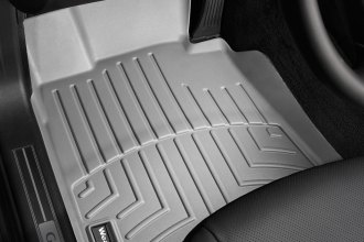WeatherTech® 463061 - DigitalFit™ Molded Floor Liners (1st Row, Gray)