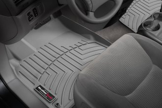 WeatherTech® 463151 - DigitalFit™ Molded Floor Liners (1st Row, Gray)