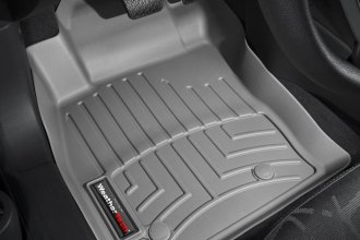 WeatherTech® 463231 - DigitalFit™ Molded Floor Liners (1st Row, Gray)
