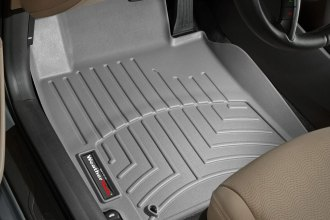 WeatherTech® 463251 - DigitalFit™ Molded Floor Liners (1st Row, Gray)