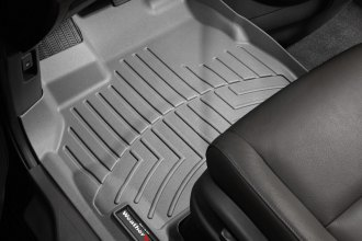 WeatherTech® 463411 - DigitalFit™ Molded Floor Liners (1st Row, Gray)