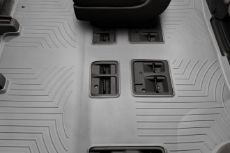 WeatherTech® 463412 - DigitalFit™ Molded Floor Liners (2nd and 3rd Row, Gray)