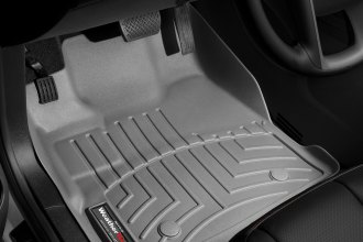 WeatherTech® 463461 - DigitalFit™ Molded Floor Liners (1st Row, Gray)