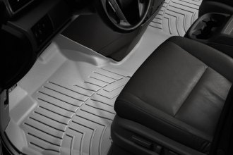 WeatherTech® 463471 - DigitalFit™ Molded Floor Liners (1st Row - Over The Hump, Gray)